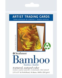 Strathmore Bamboo Artist Trading Cards 1 Pack (10 Cards)