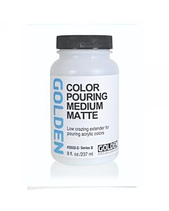Golden Pouring Medium - Matte 8oz