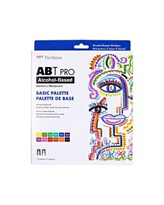 Tombow ABT Pro Markers - 12 Set Basic Colors