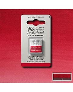 Winsor Newton Professional Watercolor - Half Pan - Alizarin Crimson