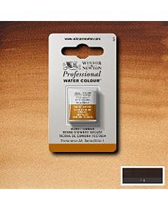 Winsor Newton Professional Watercolor - Half Pan - Burnt Umber