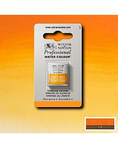 Winsor Newton Professional Watercolor - Half Pan - Cadmium Orange