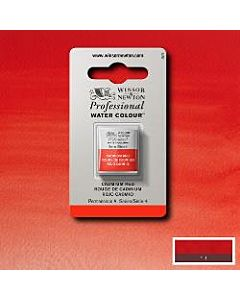 Winsor Newton Professional Watercolor - Half Pan - Cadmium Red