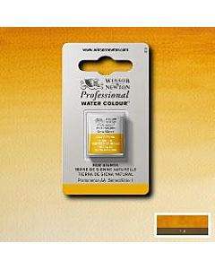 Winsor Newton Professional Watercolor - Half Pan - Raw Sienna