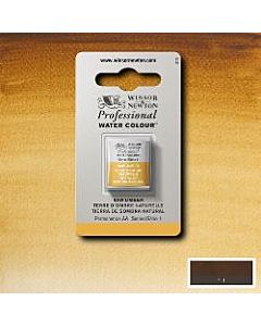 Winsor Newton Professional Watercolor - Half Pan - Raw Umber