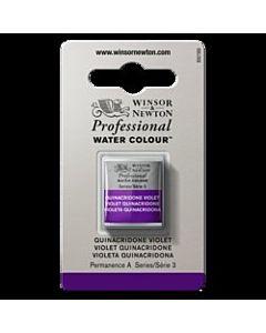 Winsor Newton Professional Watercolor - Half Pan - Quinacridone Violet