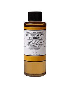 M Graham Walnut Alkyd Medium - 4oz