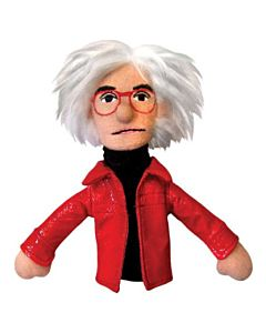 Andy Warhol Finger Puppet