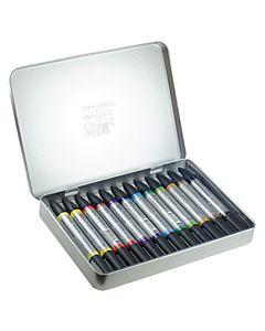 Winsor & Newton Watercolor Marker Set 12 Colors