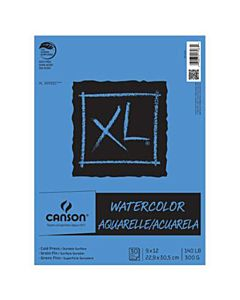Canson XL Watercolor Pad (30 sheets) 12x18""