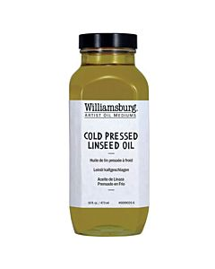 Williamsburg Cold Pressed Linseed Oil - 16oz