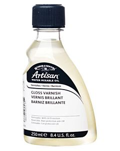 Artisan Water-Mixable Oil Color Gloss Varnish 250ml Bottle