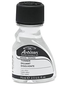 Artisan Water-Mixable Oil Color Thinner 75ml Bottle
