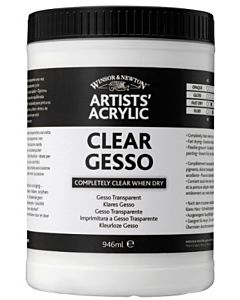 Winsor & Newton Artists' Clear Gesso 16oz Jar