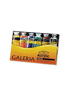 Winsor & Newton Galeria Acrylic Set of 6 2oz Tubes