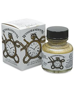 Winsor & Newton Ink 30ml Jar - Gold Ink