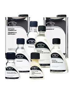 Winsor & Newton English Distilled Turpentine 250ml