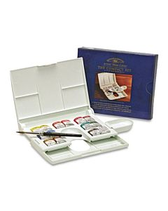 Winsor & Newton Professional Watercolor Compact Set 14 Half Pans