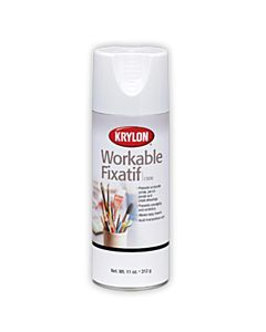 Krylon Workable Fixative 11oz Can