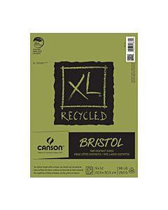 "Canson XL Bristol Pad (25 Sheets) 9x12"""