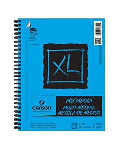 Canson XL Mix-Media Pad (60 Sheets) 7x10""