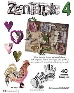 Zentangle 4 Expanded Workbook Edition