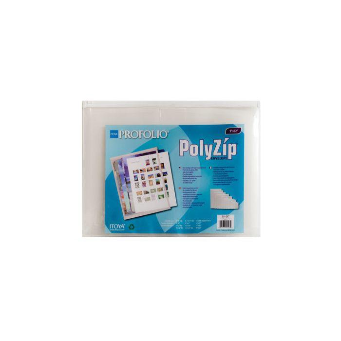 Itoya Poly-Zip Envelope 13x19