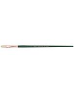 Silver Brush Grand Prix White Hog Bristle - LH - Filbert - Size 6