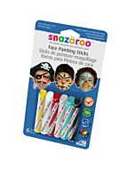 Snazaroo Face Painting 6 Stick Boys Set