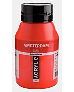 Amsterdam Acrylic Color - 1 Liter - Pyrrole Red
