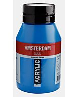 Amsterdam Acrylic Color - 1 Liter - Primary Cyan