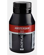 Amsterdam Acrylic Color - 1 Liter - Lamp Black