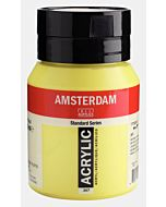 Amsterdam Acrylic Color - 500ml - Azo Yellow Lemon