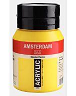 Amsterdam Acrylic Color - 500ml - Azo Yellow Light