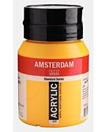 Amsterdam Acrylic Color - 500ml - Azo Yellow Deep