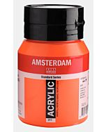 Amsterdam Acrylic Color - 500ml - Vermillion