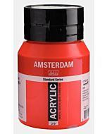 Amsterdam Acrylic Color - 500ml - Pyrrole Red