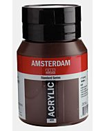 Amsterdam Acrylic Color - 500ml - Burnt Umber