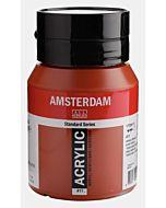 Amsterdam Acrylic Color - 500ml - Burnt Sienna