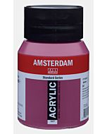 Amsterdam Acrylic Color - 500ml - Permanent Red Violet