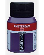 Amsterdam Acrylic Color - 500ml - Permanent Blue Violet