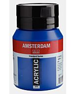 Amsterdam Acrylic Color - 500ml - Phthalo Blue