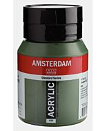 Amsterdam Acrylic Color - 500ml - Olive Green Dp