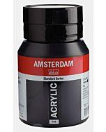 Amsterdam Acrylic Color - 500ml - Lamp Black