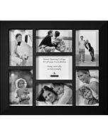 Malden Designs - Berkeley Black 7 Photo Frame