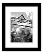Malden Designs - Niagara Black Floater Frame 8x10