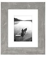 Malden Designs - Manhattan Gray Frame - 8x10 Opening, 5x7 Mat