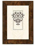 Malden Designs Burlwood Dark Walnut Frame 4x6