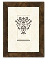 Malden Designs - Burlwood Dark Walnut Frame 5x7