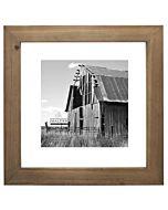 Malden Designs - Barnwood Distressed Float Frame - Taupe - 12x12